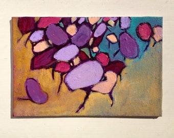 Small Painting Original Art Acrylic
