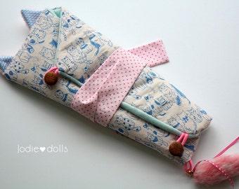 Kimono Kitten Blythe carrier bag Jodiedolls