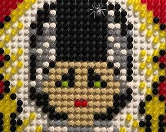 The BRIDE of FRANKENSTEIN original LEGO pixel art