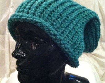 Studio 1500 Handmade Soft Thick Cable Knit Hat in a Rainbow of Colors