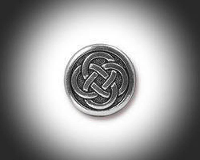 Schottische Keltischer Knoten Form Fashion Herren Manschettenkn/öpfe
