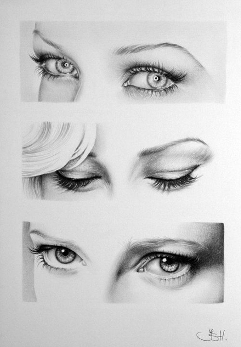 Tutorial Come Disegnare Un Occhio Realistico Passo Per Passo