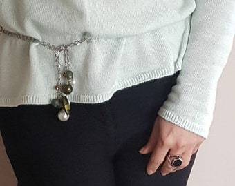 Versatile and Fun Necklace/Belt, Is it a belt?  Is it a necklace?  It's Both!!!