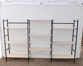 Portable Exhibition Shelves : Craft show display shelves etsy