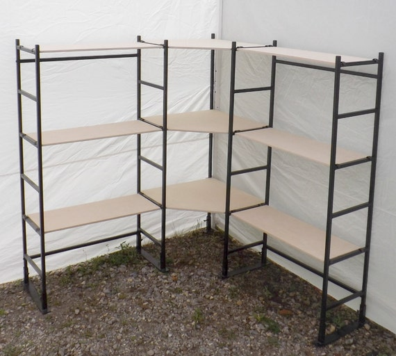 Portable Exhibition Shelves : Portable exhibition table hook and loop receptive fabric
