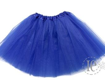 01eaae2427 Royal Blue 4-Layer Teen Tutu, tutu skirt for teen, teen tutu, running tutu,  teen Royal Blue tutu, tutu for teens, dance tutu (4L Adult)