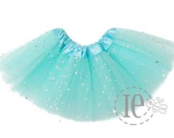 2191eef985 Light Blue Sparkle TODDLER Tutu 4-Layer - Aqua Tutu - Blue Glitter Tutu - Toddler  Tutu - birthday tutu - Blue Aqua Toddler Tutu (TD Sparkle)