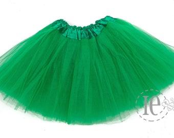 d2495493b Kelly Green 4-Layer GIRLS Tutu - Kelly Green Tutu - Green Girls Tutu - Tutus  for Girls - Girls Tutu - Girls Skirt - Dance Tutu (C4 Ballet)