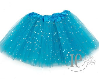 06d769542a Turquoise Sparkle TODDLER Tutu 4-Layer - Turquoise Tutu - Blue Glitter Tutu  - Toddler Tutu - birthday tutu - Blue Toddler Tutu (TD Sparkle)
