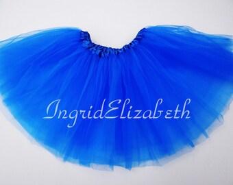 5d46e5d79d Neon Blue Tutu, SALE 3-Layer Skirt / FAST SHIPPING / Child Toddler Costume, Birthday  Tutus, Dress Up tutus, Princess tutu (C3 Ballet)