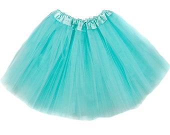 Aqua Girls Tutu, Aqua tutu, Aqua Girls Tutu, Tutus for Girls, Girls Skirt