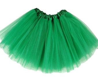 Kelly Green ADULT Tutu, tutu skirt for women, running tutu, adult tutu skirt, adult tutu, tutu for adult, bachelorette