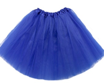 Royal Blue ADULT Tutu, tutu skirt for women, running tutu, adult skirt, adult Blue tutu, tutu for adult, bachelorette
