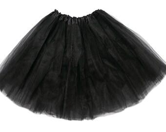 Black Girls Tutu, Black tutu, Black Girls Tutu, Tutus for Girls, Girls Skirt