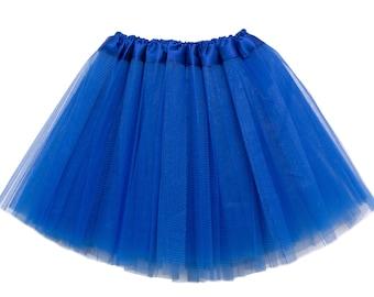 Royal Blue Girls Tutu, Royal Blue tutu, Royal Blue Girls Tutu, Tutus for Girls, Girls Skirt, Halloween