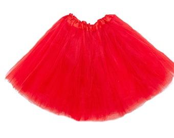 Red ADULT Tutu, tutu skirt for women, running tutu, adult tutu skirt, adult Red tutu, tutu for adults, bachelorette