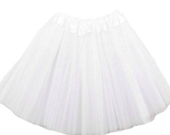 White Girls Tutu, White tutu, White Girls Tutu, Tutus for Girls, Girls Skirt
