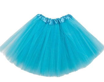 Turquoise Girls Tutu, Turquoise tutu, Turquoise Girls Tutu, Tutus for Girls, Girls Skirt