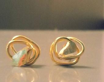Small Gold Stud Earrings