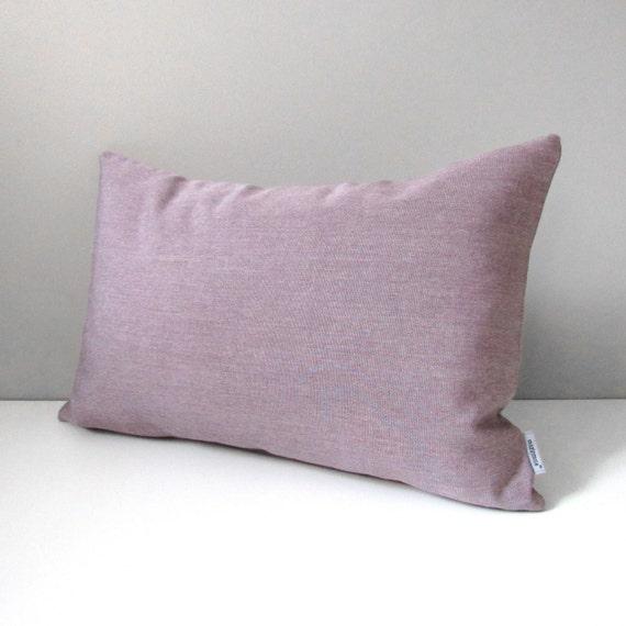 Mauve Pillow Cover Decorative Pillow Cover Modern Outdoor Etsy Classy Mauve Decorative Pillows