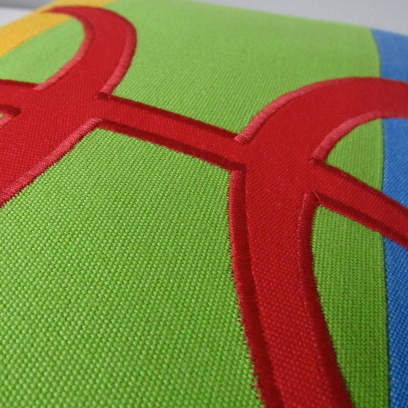 Berber Flag Pillow Cover, Decorative Pillow Case, Amazigh Flag, Nomadic  Free Man, Sunbrella Outdoor Cushion Cover, Blue Green Yellow 12