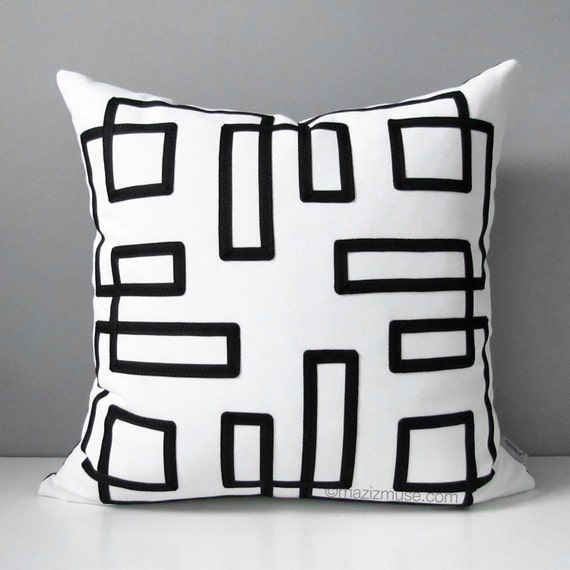 Outdoor Pillow Cover Mid Century Modern