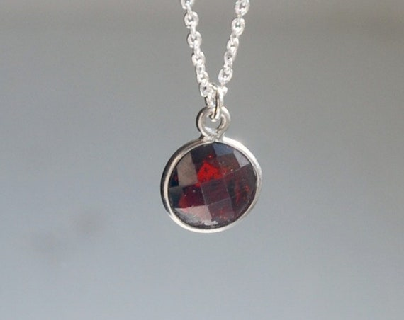 Gemstone necklace - pick a stone