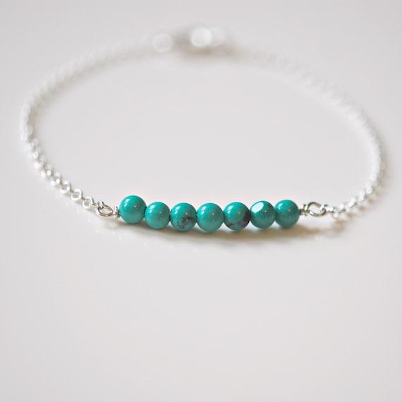 Dainty gemstone bracelet - pick a stone