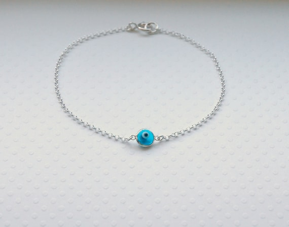Evil eye bracelet - choose your colour