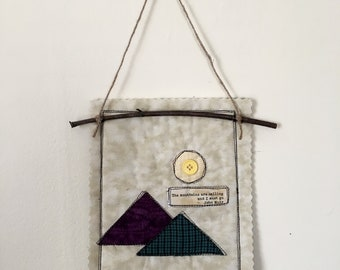 Mountains in Miniature Scrap Quilt