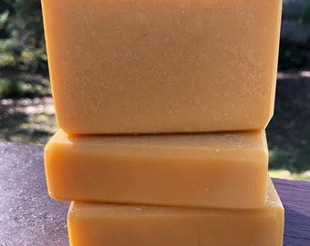 Lemongrass Soap Handmade Vegan With essential Oil Organic Coconut Oil EO Natural | 100% Net Proceeds to Animal Rescue Charity