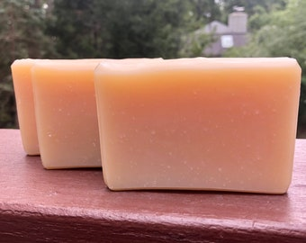 Orange Bar Soap | Handmade w/ Essential Oil EO Natural | 100% Net Proceeds to Animal Rescue Charity