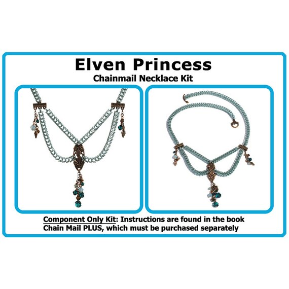 jump rings and earwires Kit for Made With Love Chainmail Earrings  Components Only Kit or Kit plus Book  kit includes charms