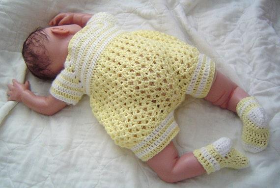 0064 Yellow Sunshine Infant Boys Patternbaby Boys Crochet Etsy