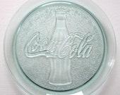 Vintage Coca-Cola Glass Serving Platter
