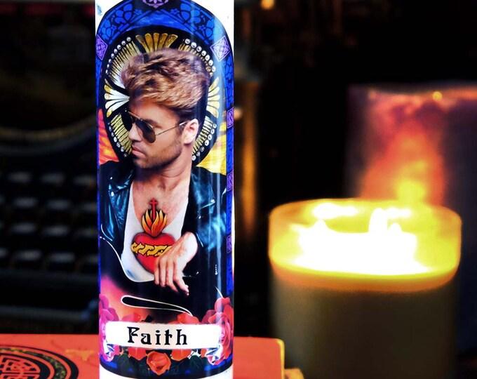 Patron Saint of Faith Prayer Candle / Parody art / Fan art