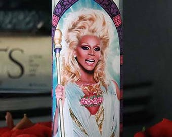 Saint RuPaul Prayer Candle / Drag Race