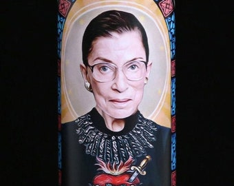 Our Lady of Dissent - Prayer Candle - Parody Art