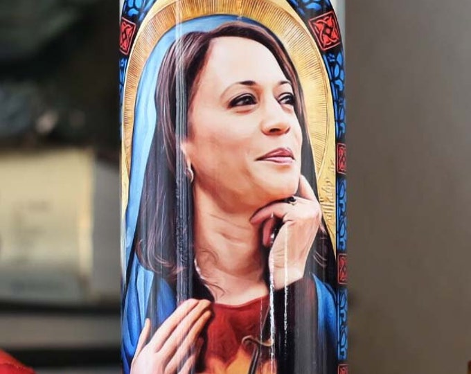 Patron Saint of Smashing the Patriarchy Prayer Candle