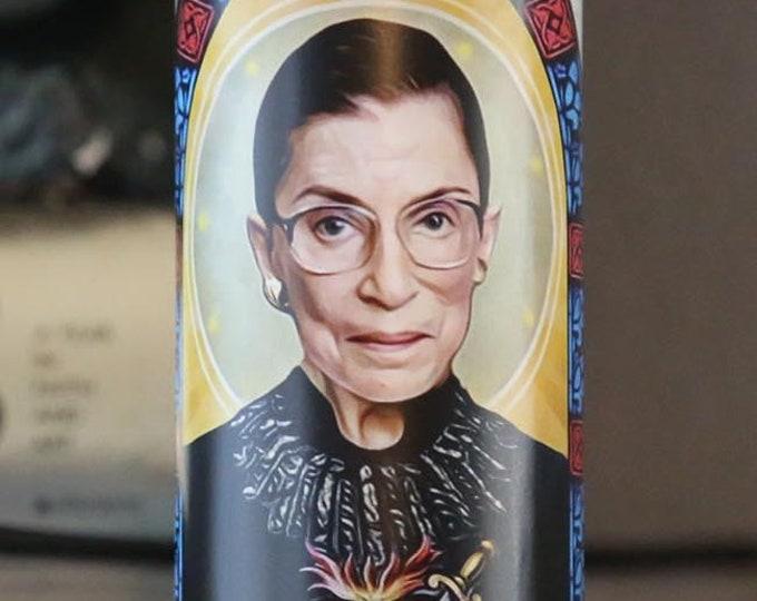 Patron Saint of Dissent Prayer Candle / RBG / Parody art / Fan art