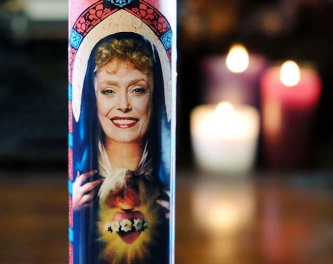 Saint Blanche Prayer Candle / Fan art / Parody art