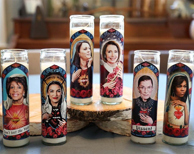 Woke Women Prayer Candle Set / Choose 4