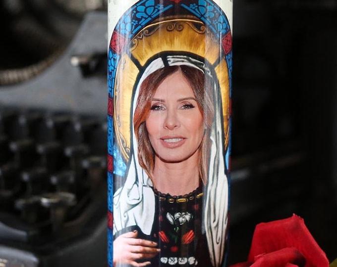 Patron Saint of Ride or Die Prayer Candle / Parody art / Fan art