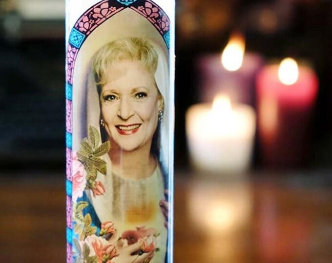 Saint Rose Prayer Candle / Fan art / Parody art