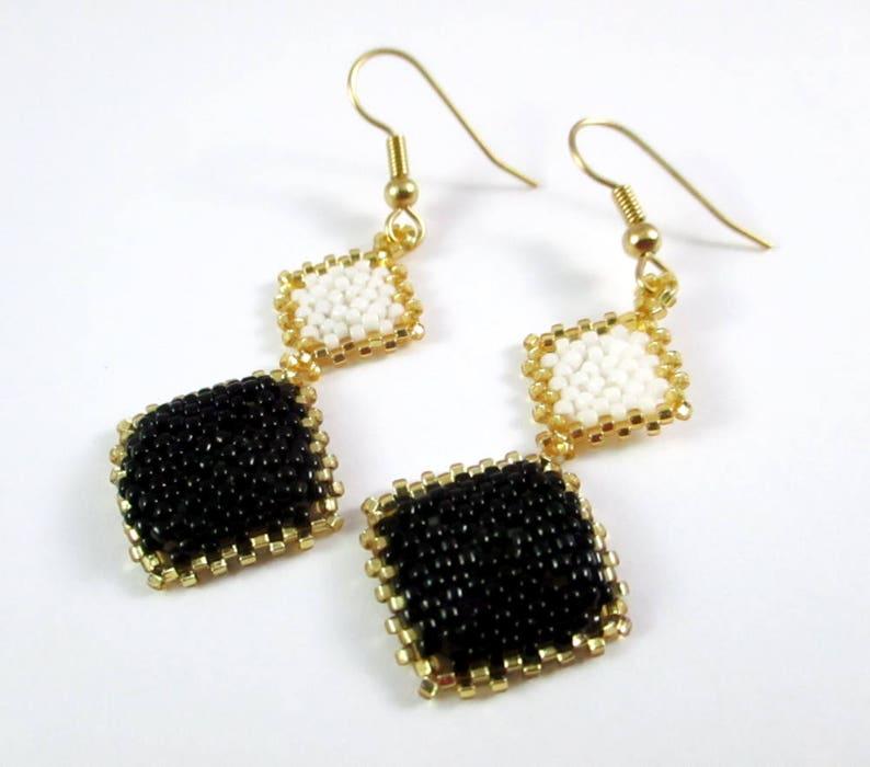 Diamond Dangle Earrings image 0