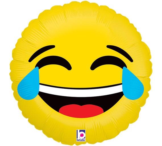 Emoji Balloons Emotion HAPPY BIRTHDAY