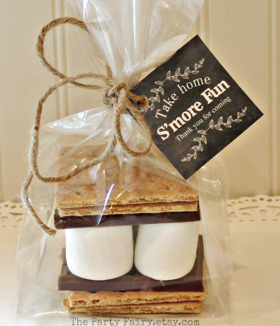 Smores Party Favor Kits 12 With