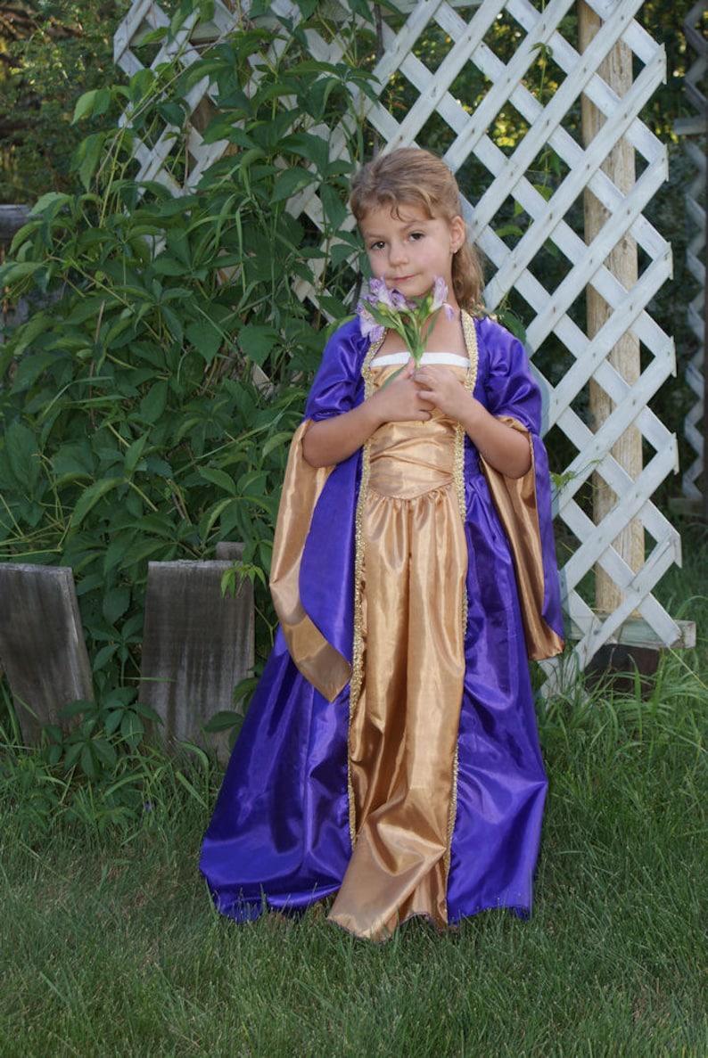 6c1f07fd5e65 Childs Fairy Tale Princess Dress Tudor Renaissance Medieval | Etsy
