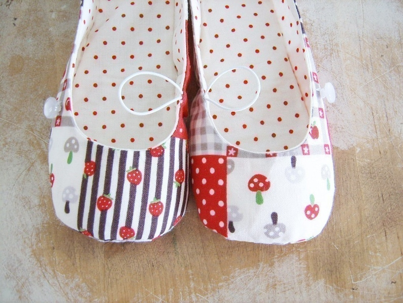 84c88724b296c Shoe Pattern - PDF - Vintage Flair Flats child size 7 - 12