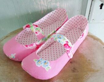 Shoe Pattern - PDF - Mary Jane Flats Women's Size 5 to 11